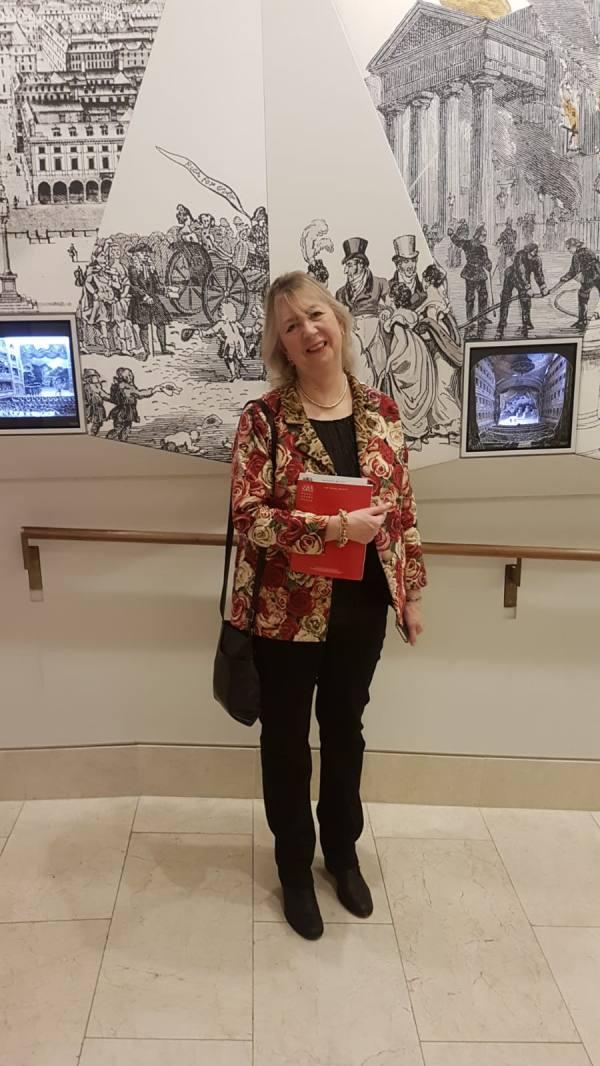 Me at the Royal Opera House first night Don Quixote